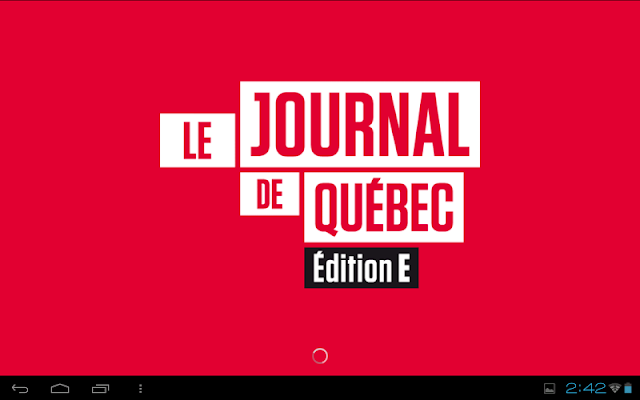 Journal de Québec - éditionE - screenshot