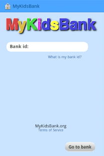MyKidsBank- screenshot thumbnail