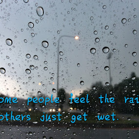rain.... by Mary Yeo - Typography Quotes & Sentences (  )