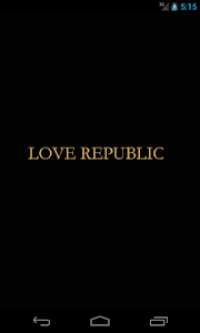 LOVEREPUBLIC APP screenshot 0