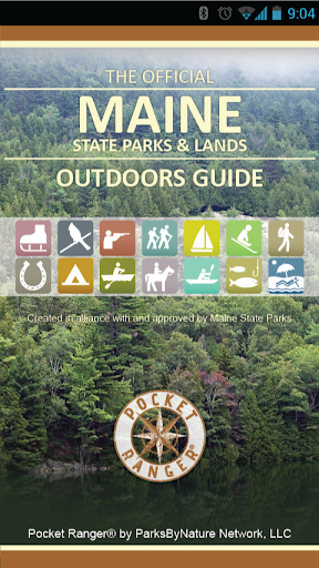 Maine State Parks Land Guide