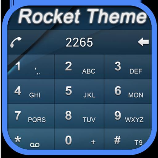 RocketDial DarkBlue Theme (HD) LOGO-APP點子