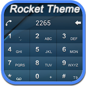RocketDial DarkBlue Theme (HD) 通訊 App LOGO-硬是要APP