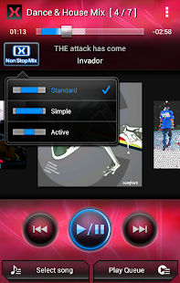 MIXTRAX App- screenshot thumbnail