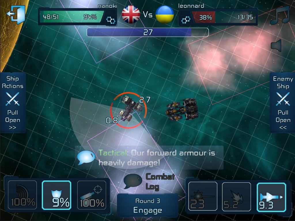 WarSpace Multiplayer Strategy - screenshot