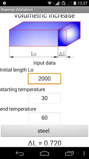 thermal expansion - dilatação