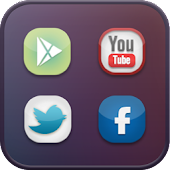 Gradient icon theme