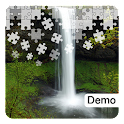 Waterfall Jigsaw Puzzles Demo icon