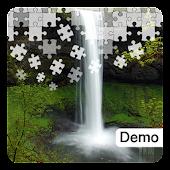 Waterfall Jigsaw Puzzles Demo