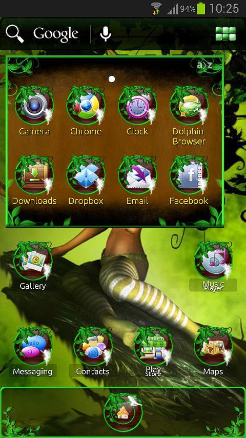 Fairy ADWTheme - screenshot