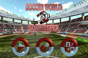Screenshot of Goalkeeper Soccer World