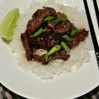 Vietnamese Inspired Beef Stir Fry.