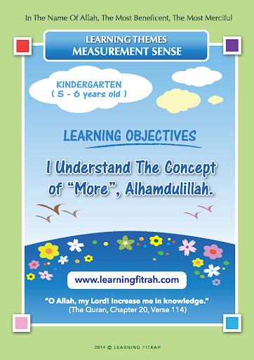 Kindergarten 7 8 -More Less