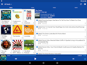 DoggCatcher Podcast Player Screenshot 2