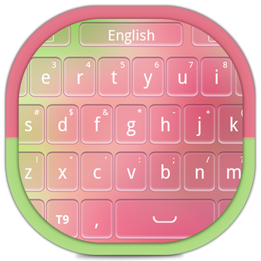 Pink Theme Keyboard LOGO-APP點子