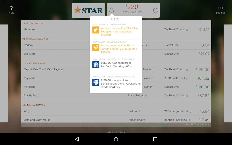 STAR Touch - screenshot