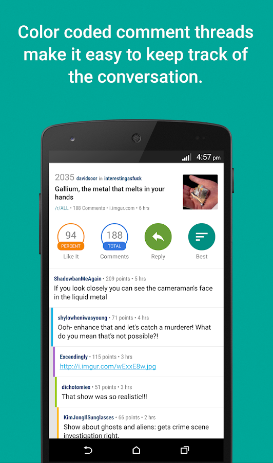 Reddit News - screenshot