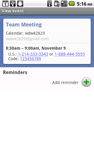 Dial My Meeting - screenshot