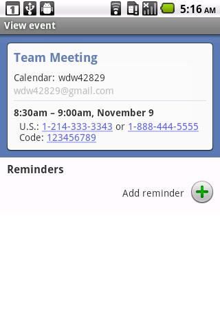 Dial My Meeting- screenshot