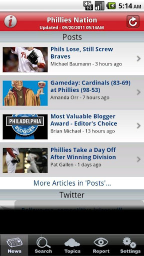 Phillies Nation App Screenshot