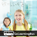 Grade 7 Math by GoLearningBus icon