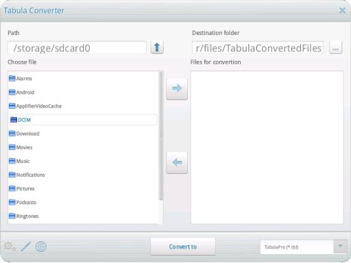 Tabula Pro Converter