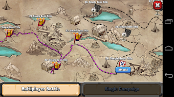 Screenshot of Vikings Battle: Strategy Game