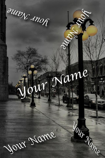 My lover Name Live Wallpaper