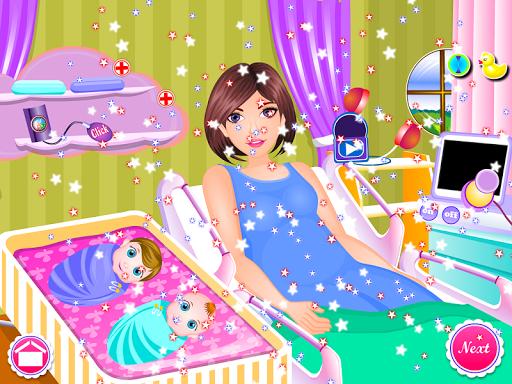 Newborn twins girls games 8.0.2 screenshots 14