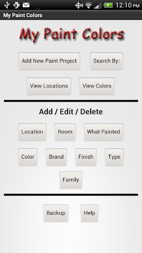 My Paint Colors Free