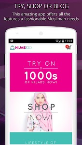 Hijab Fashion Photo Shopping screenshot 0