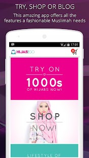 Hijab Fashion Photo Shopping- screenshot thumbnail