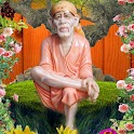 Divine Saibaba in the Garden icon