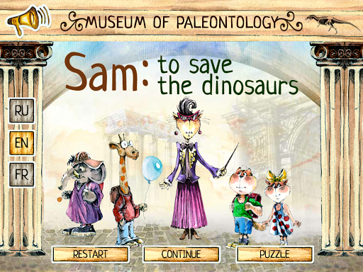 Sam: To Save the Dinosaurs