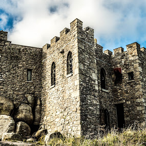 Carn Brea Castle by Lynnie Adams - Buildings & Architecture Public & Historical ( hdr, castle, historical, cornwall )