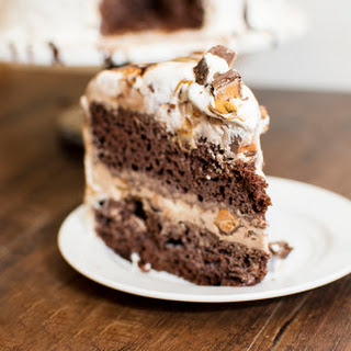Touchdown Butterfinger Cup Ice Cream Cake.