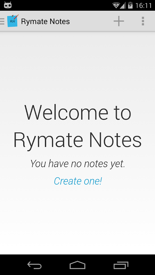 Rymate Notes - screenshot