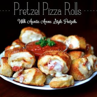 Pretzel Pizza Rolls