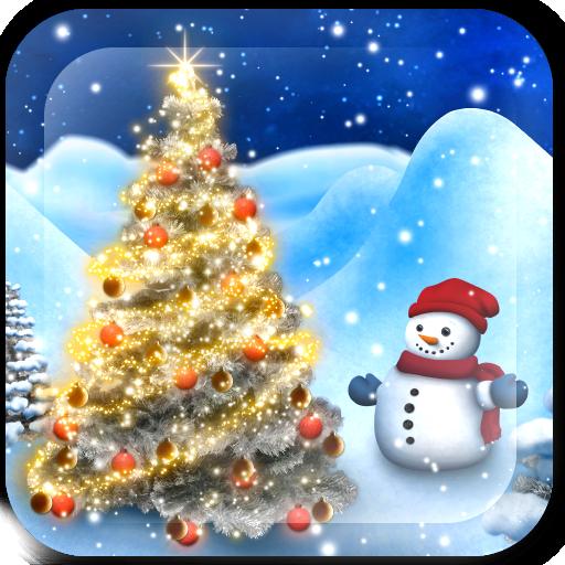 個人化App|降雪世界動態壁紙 LOGO-3C達人阿輝的APP