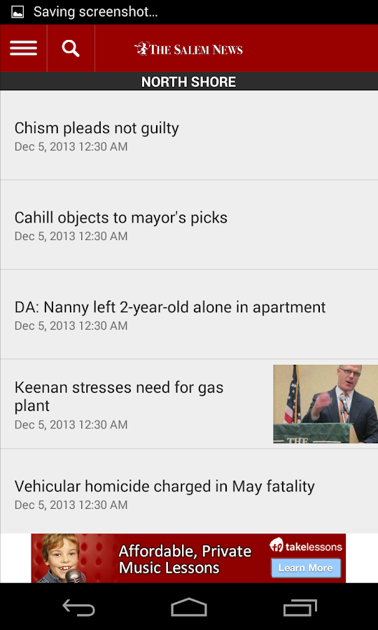 The Salem News Beverly MA - screenshot