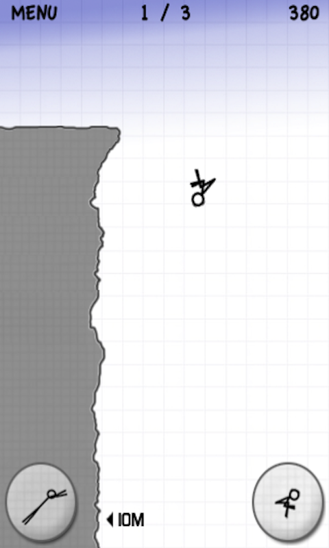 Stickman Cliff Diving screenshot #8