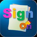 SignOn, 싸인만들기 icon
