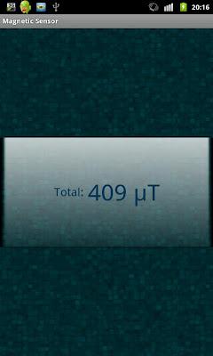 Magnetic Field Detector/Sensor - screenshot