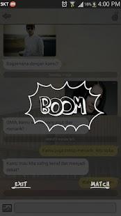 Boom Chat - Bertemu Teman Baru- screenshot thumbnail