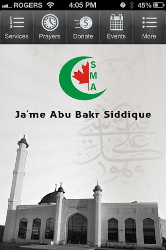Jame Abu Bakr Siddique