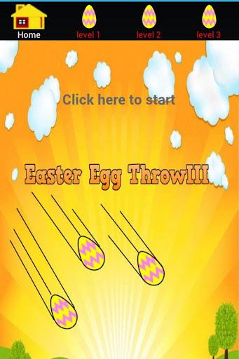 Easter Egg Throw III