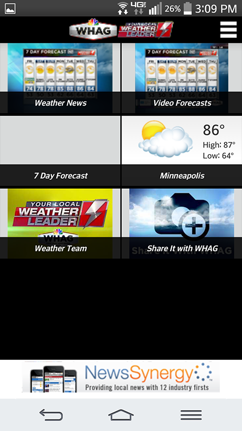 WHAG Weather- screenshot