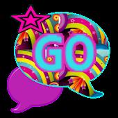 GO SMS THEME/BrightRainbows1
