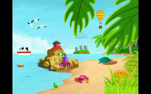 L'île aux poulpes