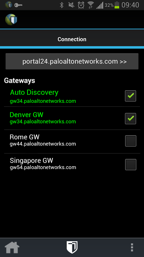 GlobalProtect- screenshot
